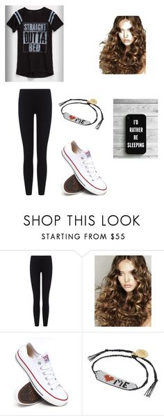 """Untitled #661"" by jessica-smith-xxv ❤ liked on Polyvore featuring James Perse, Converse and Venessa Arizaga"