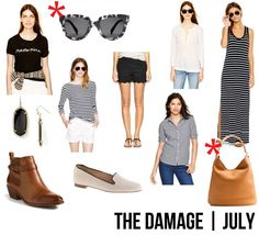 jillgg's good life (for less) | a style blog: the damage: July!