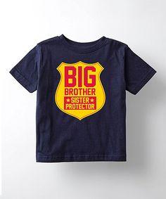 Look at this #zulilyfind! Navy 'Big Brother' Tee - Toddler & Boys #zulilyfinds