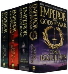 Conn Iggulden 'Emperor series' -- all time favorite author. One of my fave series.