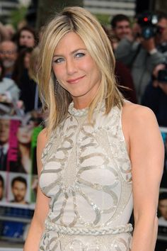 Jennifer Aniston at Horrible Bosses London premiere - Click image to find more Celebrities Pinterest pins