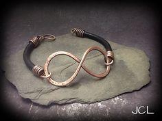Mens+robust+style+infinity+bracelet+by+JCL