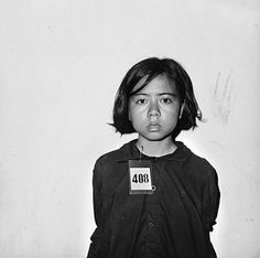 This young girl was a prisoner under the Khmer Rouge.