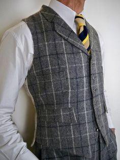 tweed waistcoat - Cerca con Google