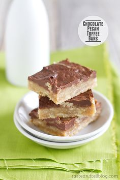 A buttery brown sugar crust is topped with pecans, an easy toffee and chocolate for a rich and delectable bar. I'm sure you are all familiar with that famous saltine toffee. You know – the kind where you take a layer of saltine crackers, then cook up a mixture of butter and brown sugar that...
