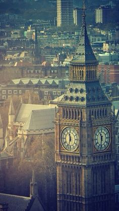 Photograph of Big Ben and Westminster Abbey in the background, London, UK / by rosieburtphotography Places Around The World, Oh The Places You'll Go, Places To Visit, Around The Worlds, Beautiful London, Beautiful Places, Big Ben, London City, London Skyline