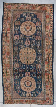 Antique Khotan Oriental Rug X This Khotan antique Oriental Carpet measures x x 399 cm). It has three aubergine dyed medallions. The two end medallions have . Plastic Carpet Runner, Cheap Carpet Runners, Rugs On Carpet, Carpets, Contemporary Rugs, Persian Rug, Needlepoint, Bohemian Rug, Area Rugs