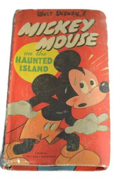 MICKEY MOUSE ON HAUNTED ISLAND........................Gratitude Treasury by Pat Peters on Etsy