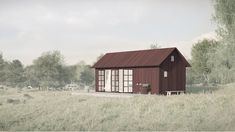 Small cottage c / o 40 Tiny House, Shed, Loft, Cottage, Outdoor Structures, Architecture, House Styles, Home Decor, Cabins
