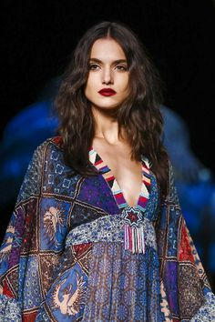 Anna Sui Fashion Show Ready to Wear Collection Spring Summer 2016 in New York