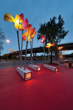Art » CONTEMPORIST 7N Architects and RankinFraser Landscape Architecture have designed the Phoenix Flowers project in Glasgow, Scotland.
