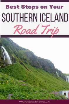 Southern Iceland is a haven of outdoor wonders and sights to see! From black sand beaches, to geysers, to towering waterfalls, these are all the best stops on your Southern Iceland road trip you can't afford to miss!