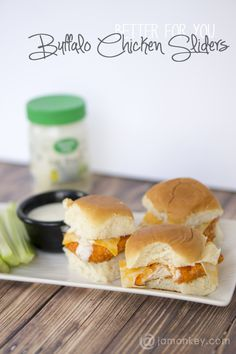 Better for You Buffalo Chicken Sliders — JaMonkey - Atlanta Mom Blogger | Parenting & Lifestyle