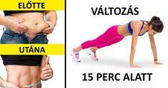 5 gyakorlat a tested átformálásához 15 perc alatt Fitness Workouts, Easy Workouts, Fitness Tips, Health Fitness, Bodybuilding Training, Bodybuilding Workouts, Flat Tummy Workout, Different Types Of Yoga, Shoulder Muscles
