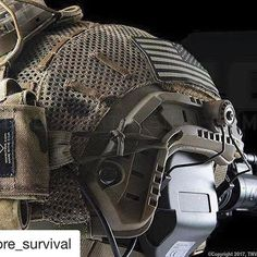 MARK & SARA in use by @core_survival #Repost @core_survival with @repostapp ・・・ Photo Credit: SPEAR Tactical Development Group #helstar6 #helmetlights #lids