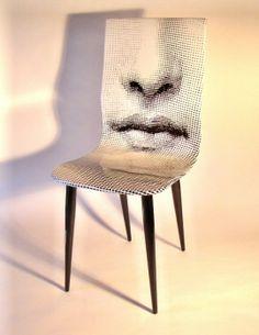 Fornasetti chair.