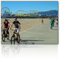 Santa Monica Bike Beach Path