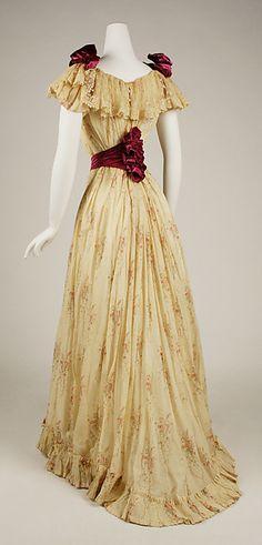 Edwardian dress.