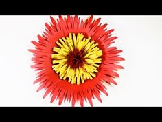 Giant Paper Flower Tutorial (Under 60 seconds!) - YouTube