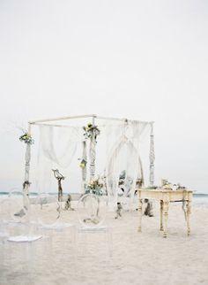 Воздушная Свадьба На Пляже От Jose Villa