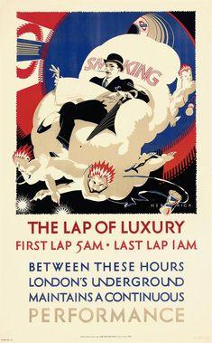 Vintage Advertisements, Vintage Ads, London Underground Tube, London Transport Museum, Public Transport, Retro Poster, Poster Vintage, London Poster, Railway Posters