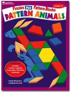 Pattern Animals Puzzles for Pattern Blocks Learning Resou...