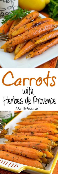 carrots with herbes de provence carrots with herbes de provence a ...