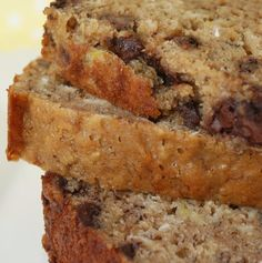 Recipe For Banana Chocolate Chip Oatmeal Bread