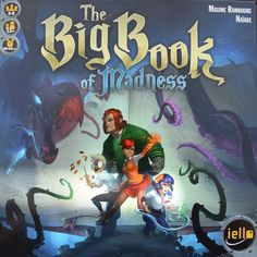 Big Book of Madness Review by the BoardGameBuds. You and your friends battle monsters to correct the mistake of opening this nasty book!