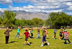 Movement Education is part of the core specialty subjects in the Tucson  Waldorf School curriculum.