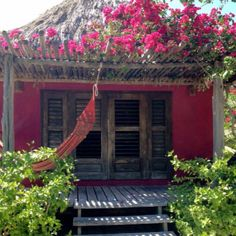 Pomegranate casita at Matachica in San Pedro, Ambergris Caye, Belize