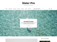 Sister Pro - Blog & Shop Theme by HustleStock on @Graphicsauthor