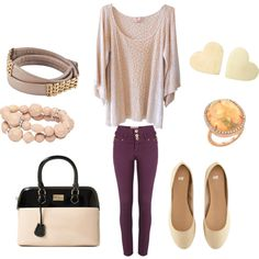 weekend brunch, I want a pair of plum jeans!