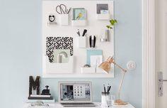 Tá faltando espaço para organizar o escritório? Aqui uma solução