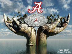 Another Crystal Football For The Alabama Crimson Tide!!! #BAMA rolltide.com(image courtesy of coach zak nathan)