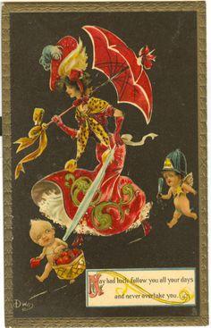 8. A few of Clare Victor Dwiggins postcards