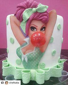 "Fabulously Decorated Cake! Xo ""Ariel"" beautified! Xo"