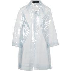 Norma Kamali Vinyl jacket (200 AUD) ❤ liked on Polyvore featuring outerwear, jackets, nude, norma kamali jacket, vinyl jacket and norma kamali