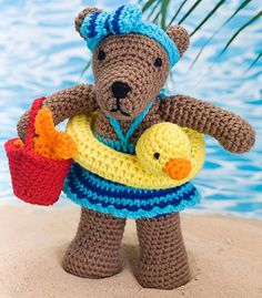 Ravelry: Beach Bear Rita pattern by Michele Wilcox