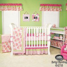 Baby Girl Kid Toddler Pink Hawaii For Crib Nursery Blanket Bed Linen Bedding Set | eBay