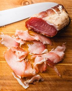 Dry-cured pork loin is one of those fun projects but chances are you don't have a cellar/basement or a curing chamber and neither do I so please don't get discouraged and read on. I dry… Cured Pork Loin Recipe, Pork Tenderloin Recipes, Sausage Recipes, Pork Recipes, Recipies, Smoker Recipes, Cooking Recipes, Charcuterie Recipes, Pork Meat