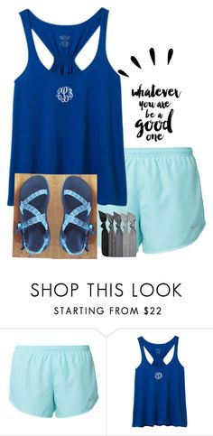 78eff312b954 by evedriggers ❤ liked on Polyvore featuring NIKE