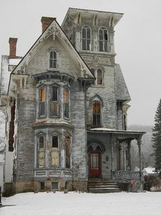 Old house, Coudersport Pa. Winter shot.