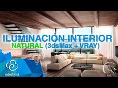 Iluminación Natural Interior ( 3ds + Vray) - YouTube