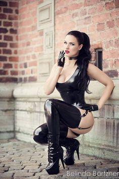 Model: Sister Sinister Photo: Belinda Bartzner -... - On The Edge
