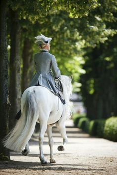 I'm determined to learn how to competently ride sidesaddle.
