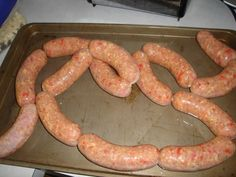 Roasted Red Pepper/Basil/Parmesan Chicken Sausage. - Smoking Meat Forums