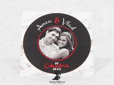 Invitatie de nunta Old Vinyl | Invitatii de nunta - Moderne