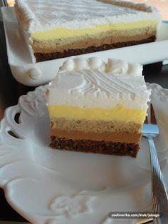 Recepti za kolače i torte: TORTA MRENA SA PLAZMA KEKSOM- TORTA NEOBICNOG IMENA, ALI I NEOBICNOG UKUSA. KREMASTA, PENASTA, SOCNA I LEPA. U MOJOJ KUCI NESTANE ZA CAS.