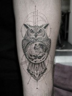 coolTop Geometric Tattoo - 60 Mystifying Moon Tattoo Designs & Meanings - 2016
